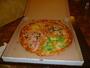 óriás pizza
