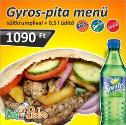 MGyros Pita Menü