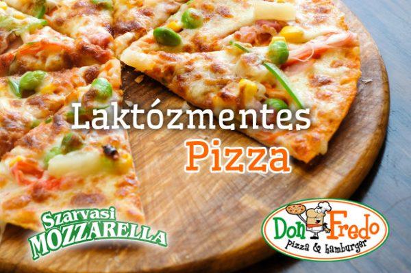 DonFredo Laktozmentes Pizza