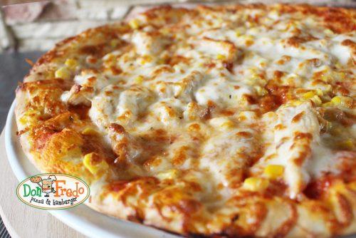 csirkemelles pizza donfredo