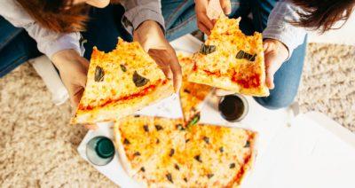 pizza evés