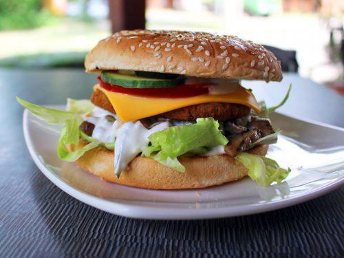 vegetarianus hamburger don fredo